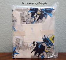 NEW Pottery Barn Kids BATMAN CITYSCAPE Twin Duvet Cover * comic superhero