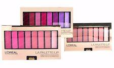 L'oreal La Palette Lip Colour Riche Lipstick Choose Your Set Pink, Plum, Nude
