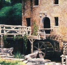 Old Mill by pollard Gone with the Wind 8x10 signed art print