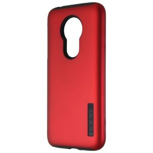 Incipio DualPro Smartphone Case for Motorola Moto G7 Power - Red/Black