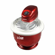 Gelatiera Da Casa Elettrica Capacita' 750 ML Gelati Sorbetti Ice Cream 7 Watt