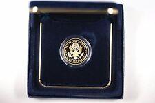 2008 Bald Eagle Commemorative Proof $5 Gold Coin w Box/Coa