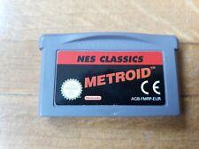 METROID NES CLASSICS PAL ESPAÑA NINTENDO GAME BOY ADVANCE SAMU NESS CLASICS
