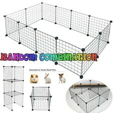 New listing Dog Car Playpen Crate Fence Pet Play Pen Exercise Metal Cage 12 Panel Random