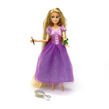Disney Store Rapunzel Tangled Special Ed Doll Extra Long Glitter Hair & Paschal