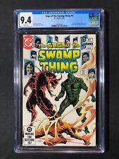 Saga of the Swamp Thing #4 CGC 9.4 (1982)