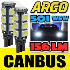 T10 501 W5W CAN-BUS 5000K INTERIOR WHITE LED 13-SMD BULBS