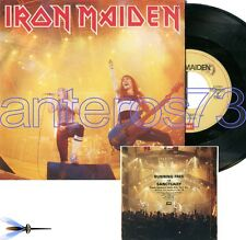 "IRON MAIDEN ""RUNNING FREE"" RARE 45RPM MADE IN ITALY 1985 - MINT"