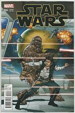 Star Wars (2015) #4 Hansolo & Chewbacca 1:25 Variant Cover Camuncoli Nm