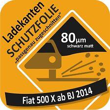 für Fiat 500X / 500 X Ladekantenschutz Folie Lackschutzfolie Schutzfolie 80µm