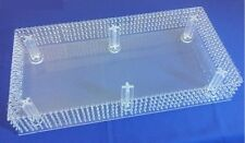 Chandelier Crystal Rectangle Cake Stand -Real Crystals-Cupcakes + Novelty Cakes