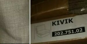 IKEA Kivik Isunda beige One Seat COVER Sofa Chair Section NEW(AddMatesW/Discnt)1