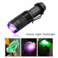 UV Ultra LED Flashlight Blacklight Light Pocket 395 nM Inspection Lamp Torch