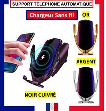 SUPPORT TELEPHONE VOITURE AUTOMATIQUE UNIVERSEL CHARGEUR SANS FIL INDUCTION