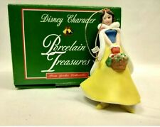 Grolier Disney Ornament Snow White from Porcelain Treasures Collection