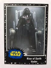 2015 Star Wars: Journey to The Force Awakens #19 Rise of Darth Vader BLACK