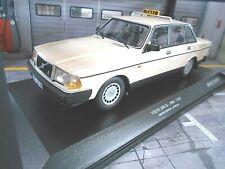 VOLVO 240 GL 240GL Taxi Deutschland Germany beige 1986 1/300 li  Minichamps 1:18