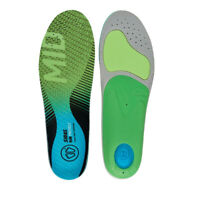 Sidas Unisex Run 3Feet Protect Mid Blue Green Sports Running Insoles