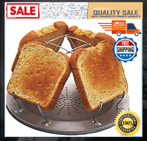 """Camp Stove Toaster Durable Steel W/ Coated Wires 9"""" Camp Fire NEW FREE SHIPPING"""
