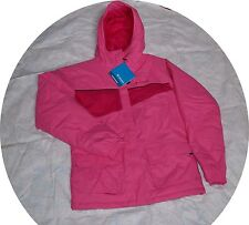 Columbia Girl Winter Ski Jacket Winter Coat Pink 18 20