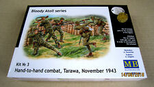 Hand-to-hand combat, Tarawa 1943. Bloody Atoll series  1/35 Master Box  # 3544