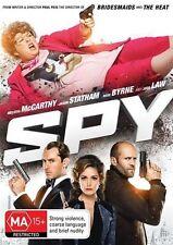 Spy (DVD, 2015) melissa Mccarthy, Jason Statham , Jude Law