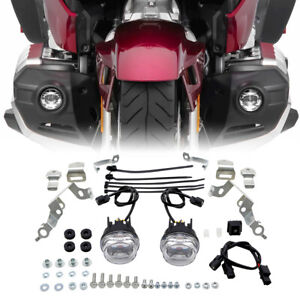 LED Fog Lights Attachment Kit Fit For Honda Goldwing 1800 GL1800 2018-2021 20 19