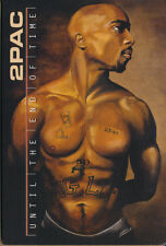 2Pac Until The End Of Time RARE promo postcard 2001