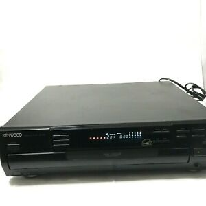 Kenwood CD-404 5 Disc Carousel CD Changer Player With Remote and Manual
