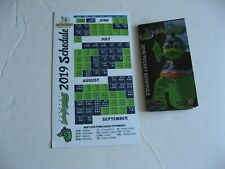 2019 Vermont Lake Monsters Pocket & Magnetic Schedules