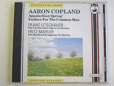 Copland Appalachian Spring/Fanfare CD (Franz Litschauer/Fritz Mahler)  VNC 7530