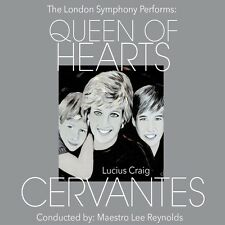 The London Symphony Performs Queen Of Hearts Cervantes Princess Diana CD 2016