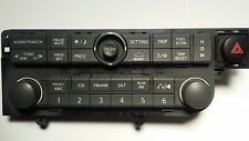 2004-06 Nissan Quest Radio Audio Control Panel,emergency switch18608 BDPK66 OEM