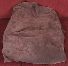 Large Piece of Suede Material for Crafting from Wilson Leather Coat