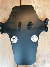 Muckynutz Fat Bike Face Fender XL Mudguard - Black