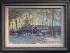 RASHIT AGDAMOV (1951-) Impressionist RUSSIAN Oil Painting of SAINT PETERSBOURG