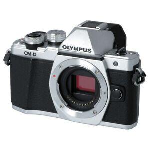 Olympus OM-D E-M10 Mark II Gehäuse, silber Messeware, kpl. geprüft #XA22D