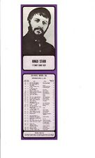 "SCARCE / VINTAGE - RINGO STARR - ""IT DON'T COME EASY"" - 1971 RADIO SURVEY 93/KHJ"