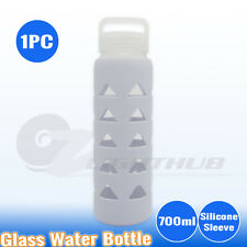 1PC Glass Water Hydration Bottle Outdoor Sport Hiking Training Drink BPA Free