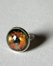 2pcs Gothique Steampunk Roue Dentée Bande Ajustable Ring Jewelry Findings