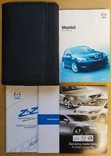 MAZDA 3 HANDBOOK OWNERS MANUAL WALLET 2006 - 2009 PACK B-255