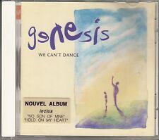 "CD ALBUM GENESIS  ""WE CAN'T DANCE"""