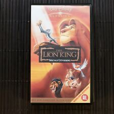THE LION KING - SPECIALE UITVOERING  - DISNEY - VHS