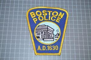 Boston Massachusetts Police Department Patch (US-Pol)