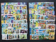 More details for disney stamps - small collection of 300 different unmounted mint disney stamps