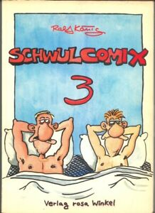 Schwul Comix 2 bis 4 Ralf König Verlag Rosa Winkel 1983 der Anfang