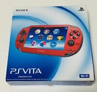 PS Vita PCH-1000 ZA03 Red Video Game Console JAPAN sony New