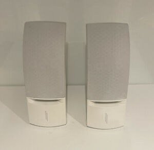 Bose 161 Right And Left Speakers White