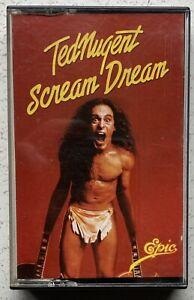 Ted Nugent, Scream Dream. Cassette Album Epic 1980 Play Tested