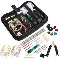 Guitar Accessory Kit Acoustic Guitar Changing Maintenance Tool Capo Strings J3L2